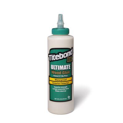 Titebond III Ultimate Waterproof Wood Glue 16 oz.