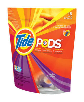 Tide Spring Meadow Scent Laundry Detergent 16 pk