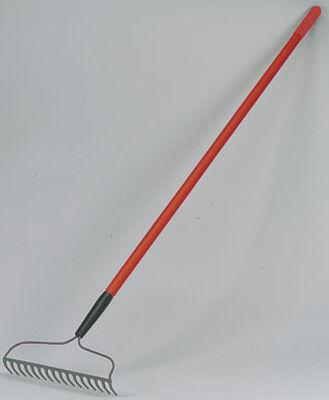 Ace 16 in. W x 54 in. L Fiberglass Bow Rake