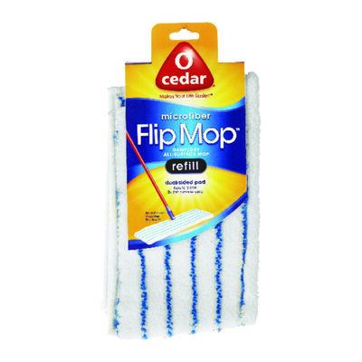 O-Cedar Flip Mop Dry/Wet Mop Refill 22.9 in. W