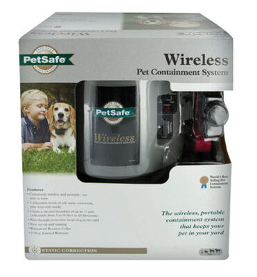Petsafe Wireless Portable Pet Containment System