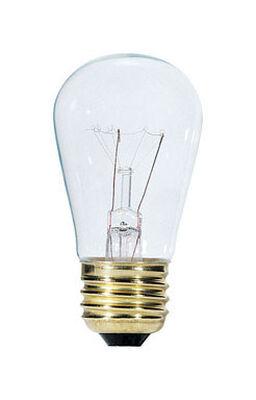 Westinghouse Incandescent Light Bulb 11 watts 63 lumens 2700 K S14 Medium Base (E26) White (Clea