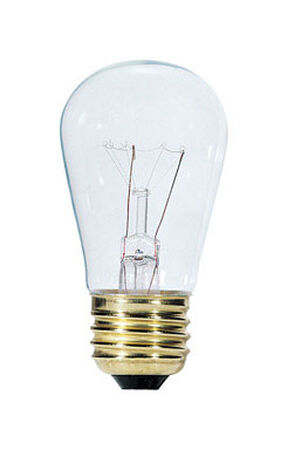 Westinghouse Incandescent Light Bulb 11 watts 63 lumens 2700 K S14 Medium Base (E26) White (Clea