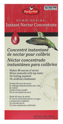 Perky-Pet Hummingbird Nectar Concentrate Sucrose 8 oz.