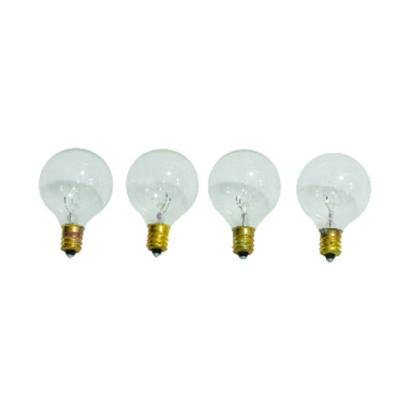 Sienna Standard Incandescent Replacement Bulb Clear 4 lights