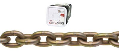 Campbell Chain Oval Link Transport Chain 50 ft. L x 5/16 in. Dia. Gold Carbon Steel