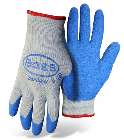 Glove Knit Latex Palm M Dbl Di