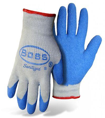 Glove Knit Latex Palm M Dbl Di