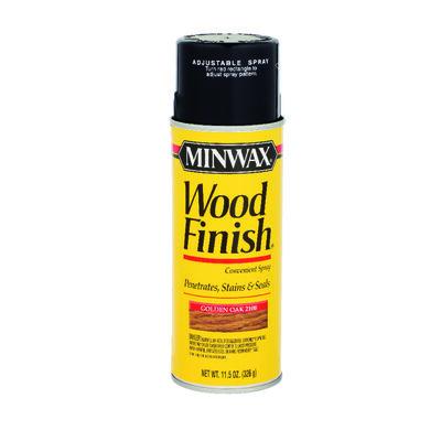 Minwax Wood Finish Transparent Oil-Based Spray Stain Golden Oak 11.5 oz.