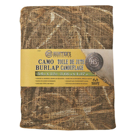 "Hunter Specialties Camo Burlap, 54"" x 12"""