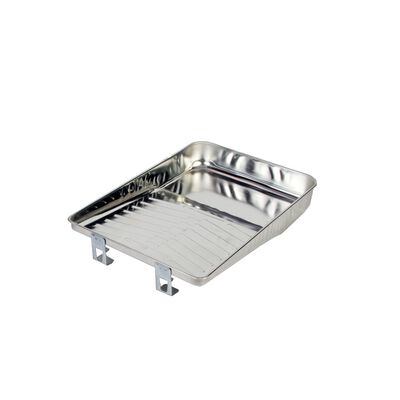 Wooster Deluxe Metal 11 in. W Paint Tray