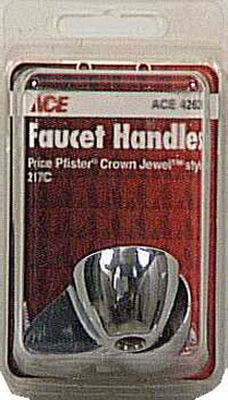 Ace Lever Chrome Polished Chrome Hot and Cold Faucet Handles
