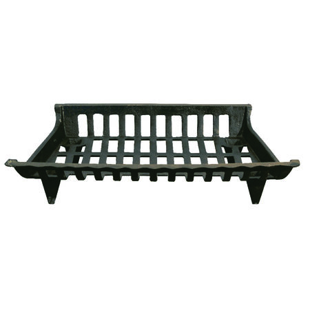 Ace Black Cast Iron Fireplace Grate Indoor