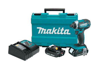 Makita Hex Impact Driver 18 volts 2900 rpm 1460 ft./lbs. 3500 ipm Cordless Lithium-Ion
