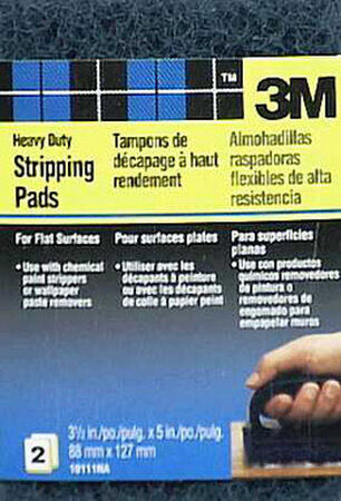 3M Stripping Pad Coarse 5 in. L 2
