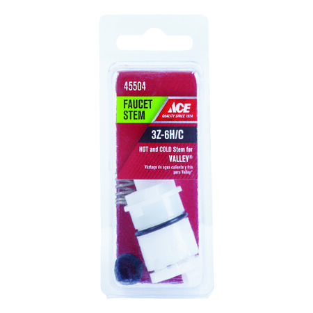 Ace Hot and Cold 3Z-6H/C Faucet Cartridge For Valley