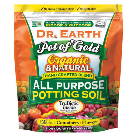 Dr. Earth Pot of Gold Pott ing Soil 8 Qt