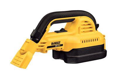 DeWalt Max 1/2 gal. Cordless 20 volts Wet/Dry Vacuum