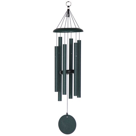 "Corinthian Bells, 29"" Green Windchime"