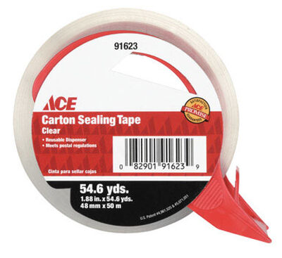 Ace 1-7/8 in. W x 54.6 yd. L Packaging Tape Clear