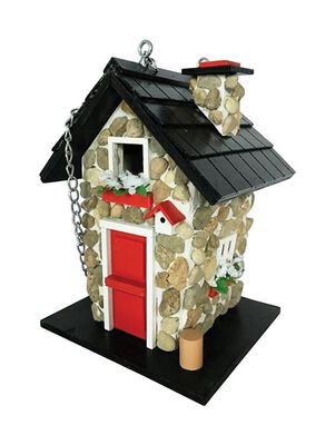 Home Bazaar 9.45 in. H Wood Birdhouse
