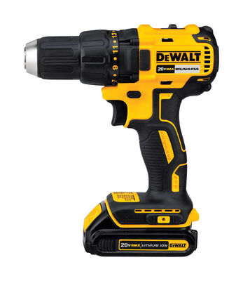 DeWalt 20 max volts 1/2 in. Single Sleeve Ratcheting Brushless Drill Driver