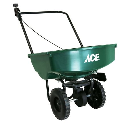 Ace Push Broadcast Spreader 65 lb. capacity