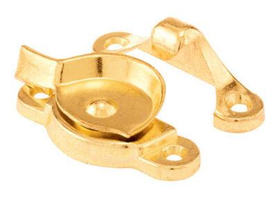 Prime-Line Brass Die-Cast Zinc Sash Lock Brass 1