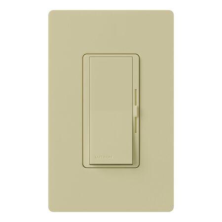 Lutron Diva 5 amps 600 watts Slide Dimmer Switch Ivory