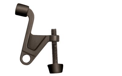 2-1/4 in. x 2-1/8 in. Oil-Rubbed Bronze Jumbo Hinge Pin Door Stop