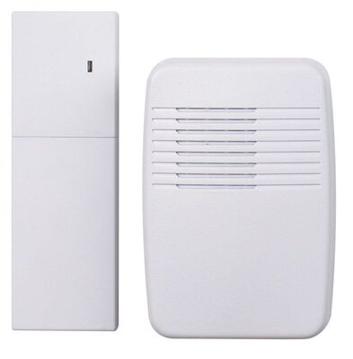 Heath Zenith White Wireless Door Chime Extender