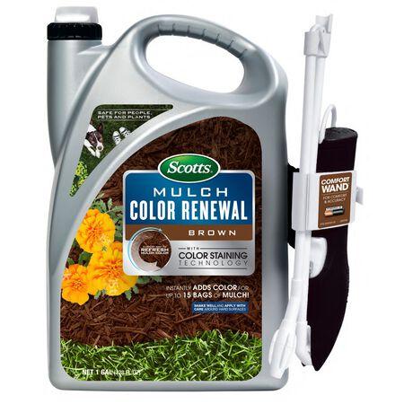 Scotts Mulch Color Renewal Brown 1 gal.