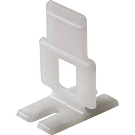 QEP 1/16 in. W Plastic Tile Spacer Clips 96 pk