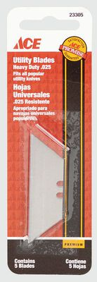 Ace Heavy Duty Utility Knife Replacement Blade 5 pk