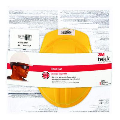 Tekk Yellow Hard Hat Polyethylene