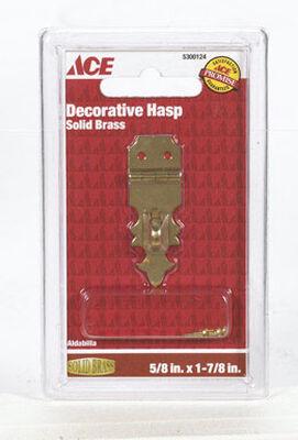 Ace 1 Decorative Hasp