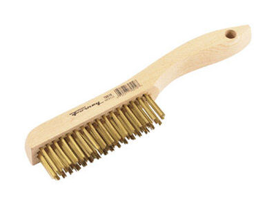 Forney Wire Brush 10-1/4 in. L