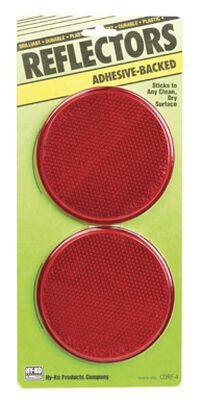 Hy-Ko Reflectors Red