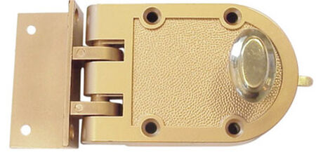 Ace Golden Painted Single Cylinder Lock 2-1/4 in.