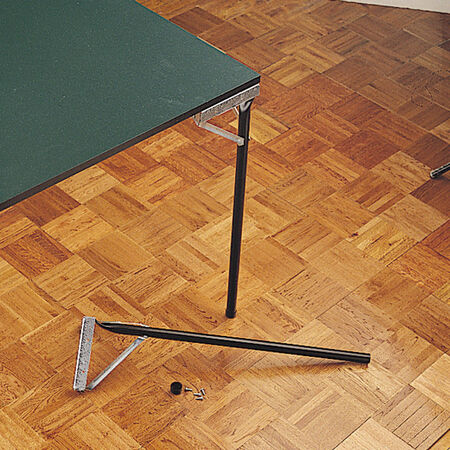 Waddell Folding Game Table Legs Black