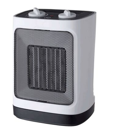 Pelonis Electric Ceramic Heater and Fan White