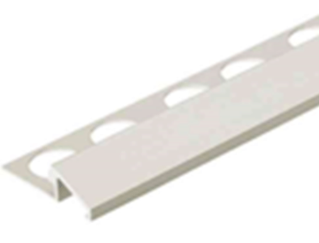 Satin Silver 1/2 in. Aluminum TC-Shape Tile Edging Trim