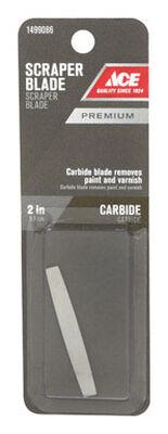 Ace Scraper Blade 2 in. W Carbide