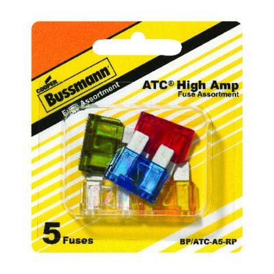 Bussmann 30 amps ATC Automotive Blade Fuse Assortment 5 pk