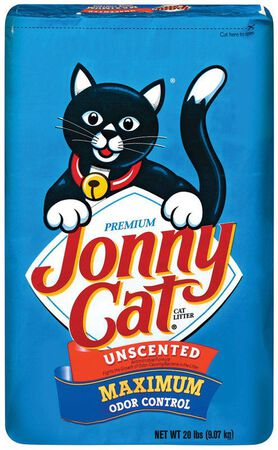 Jonny Cat Maximum Odor Control Cat Litter Origal Scente Formula Scent 20 lb.