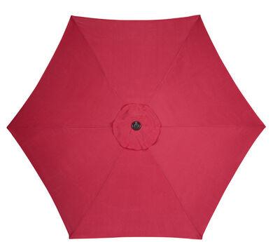 Living Accents 9 ft. Dia. Tiltable Patio Umbrella Brick