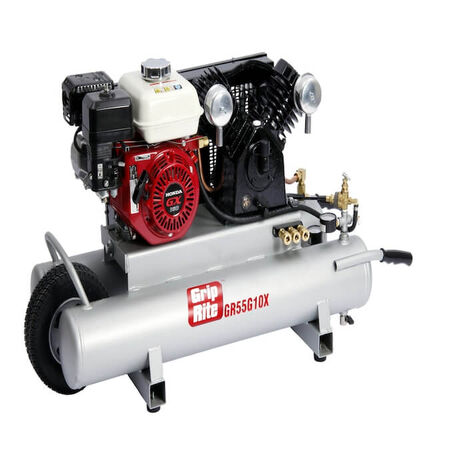 Grip Rite GR55G10X 5.5 HP Gas Wheelbarrow Compressor