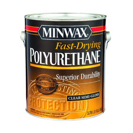 Minwax Helmsman Indoor Clear Semi-Gloss Polyurethane 1 gal.