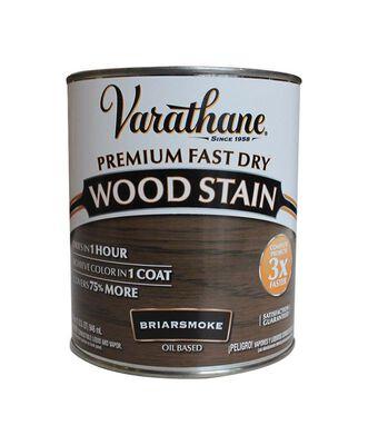 Varathane Premium Fast Dry Semi-Transparent Oil-Based Wood Stain Briarsmoke 1 qt.