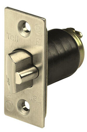 Tell Brass Guarded Latch Bolt For Knob and Lever Locksets